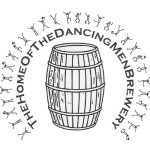 The Dancing Men Brewery logo in Happisburgh